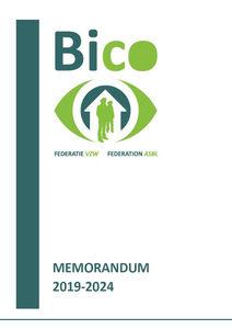 Memorandum 2019-2024 - De 10 streefpunten van de Bico-federatie in de strijd tegen dak- en thuisloosheid in Brussel